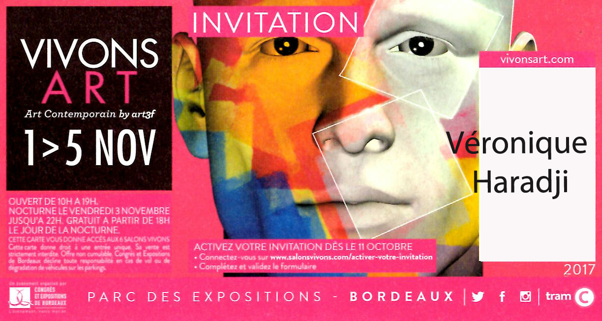 Salon Art 3F Bordeaux 2017